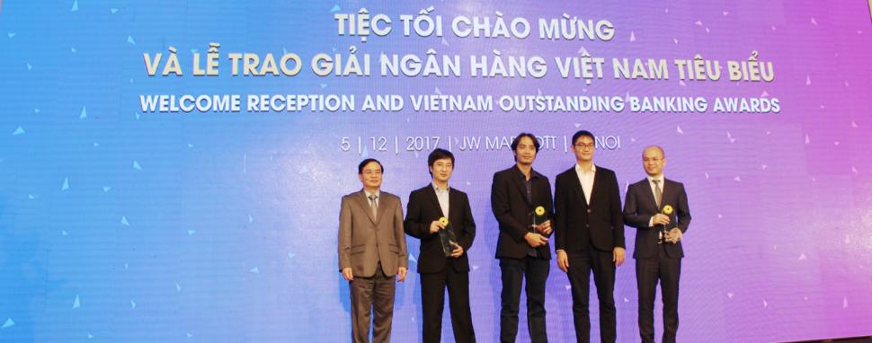 Moca nhận giải thưởng Công ty Fintech tiêu biểu năm 2017