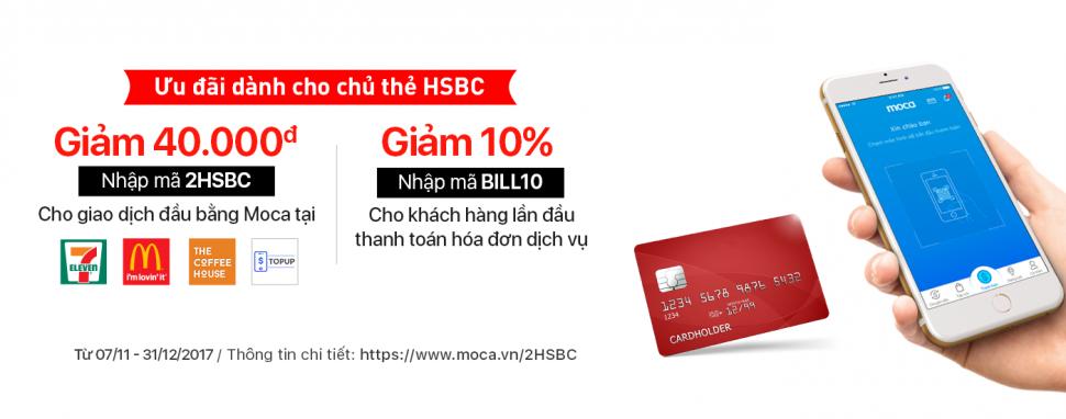 Nhiều Ưu Đãi Hấp Dẫn Cho Chủ Thẻ HSBC