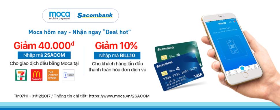 Ưu Đãi Hấp Dẫn Dành Cho Chủ Thẻ Sacombank