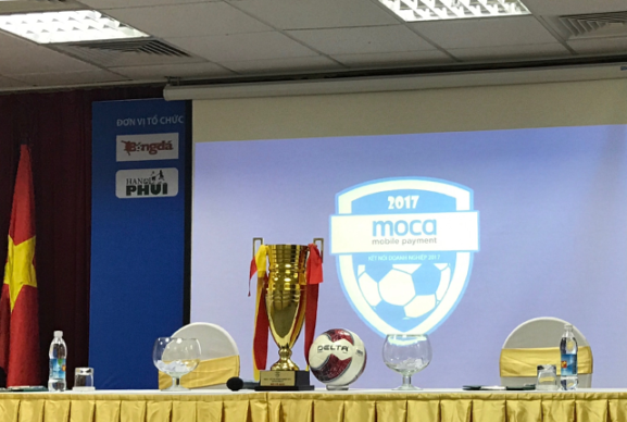 Moca là nhà tài trợ chính giải bóng đá