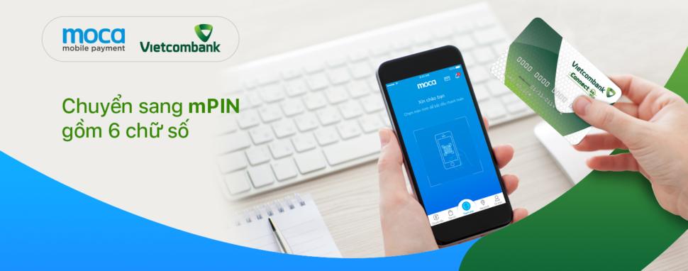 Triển khai mPIN mới gồm 6 chữ số cho chủ thẻ Vietcombank