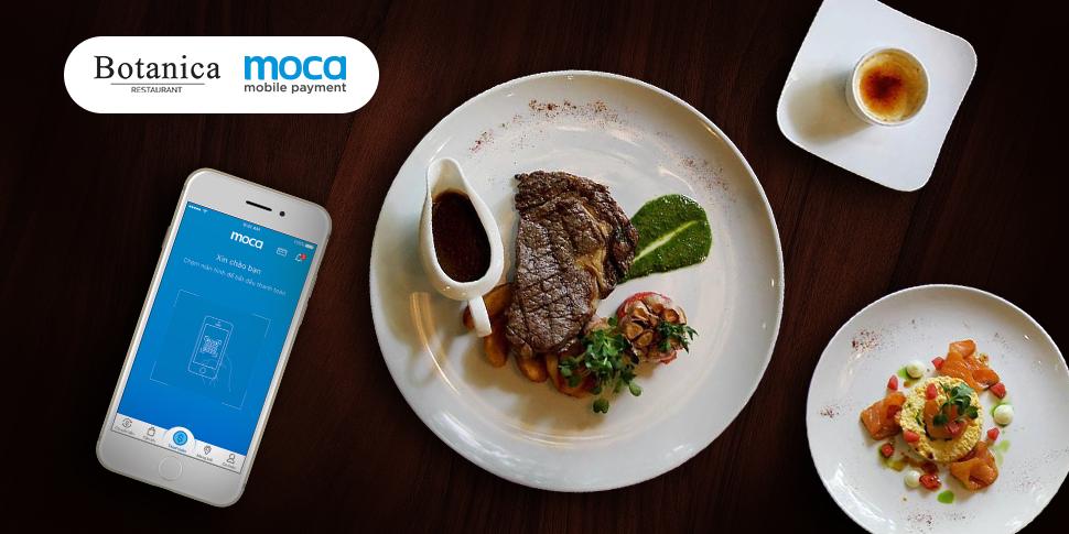 Thanh toán Moca – Thưởng thức steak đậm đà