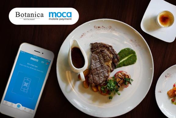 Thanh toán Moca - Thưởng thức steak đậm đà