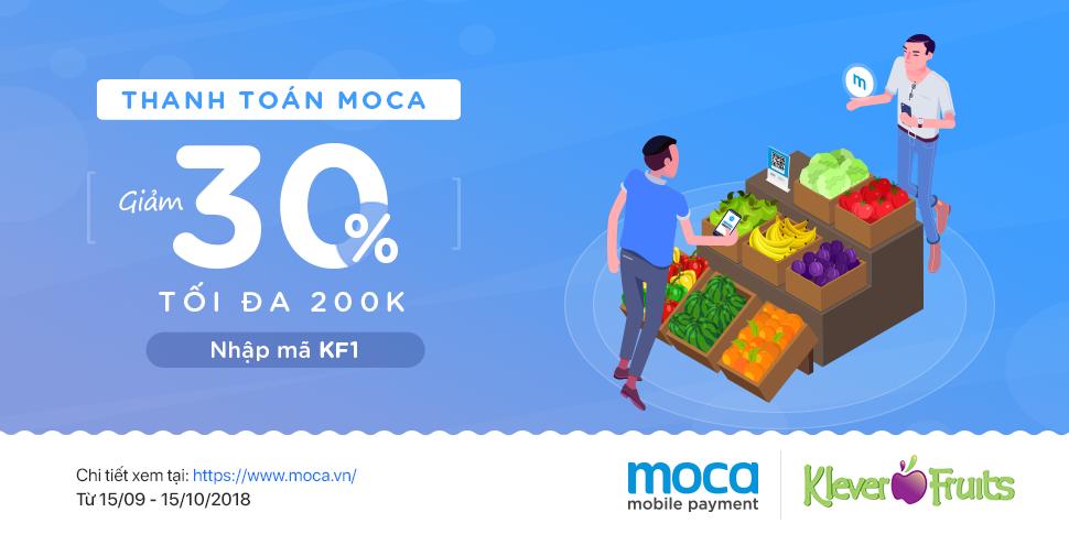 Thanh toán Moca – Ăn quả đẹp da