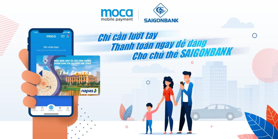 Hợp tác SAIGONBANK – Thêm lựa chọn thẻ thanh toán