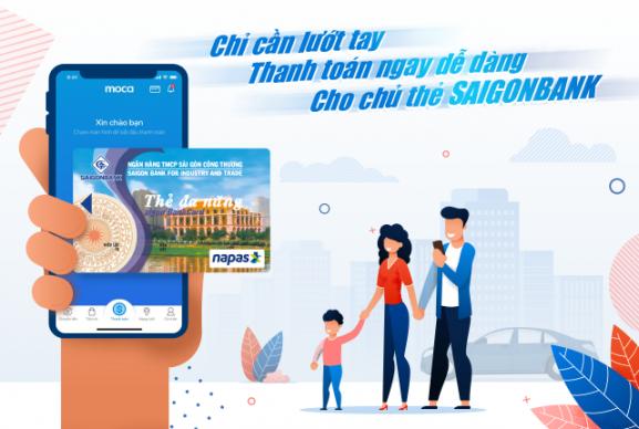 Hợp tác SAIGONBANK - Thêm lựa chọn thẻ thanh toán