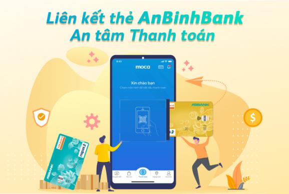 Liên kết thẻ AnBinhBank- An tâm thanh toán